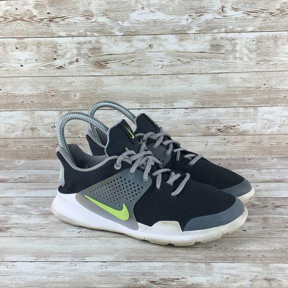 Eliminar Montañas climáticas Calma  Nike Shoes | Nike Arrowz Gs Boys 6y Black Gray White | Poshmark